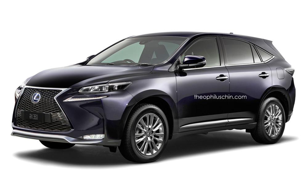 Новый Lexus RX, основанный на Toyota Harrier 2014