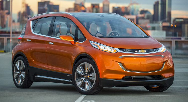 Новый Chevrolet Bolt EV - BMW i3 за $30,000