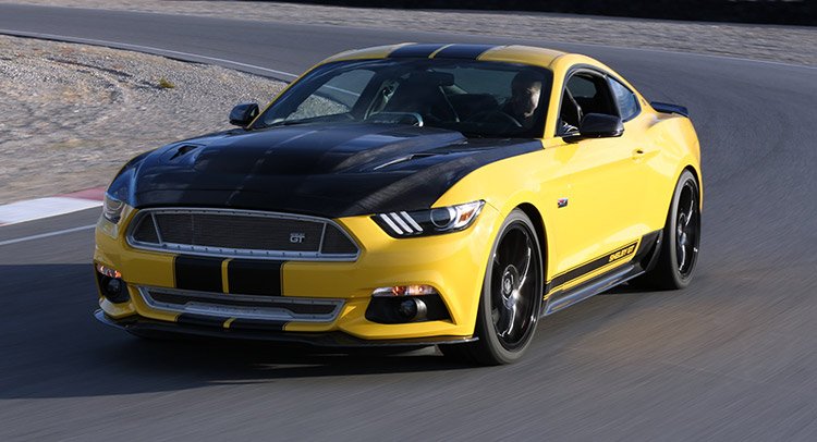Shelby Mustang GT получит Supercharged V8 627лс