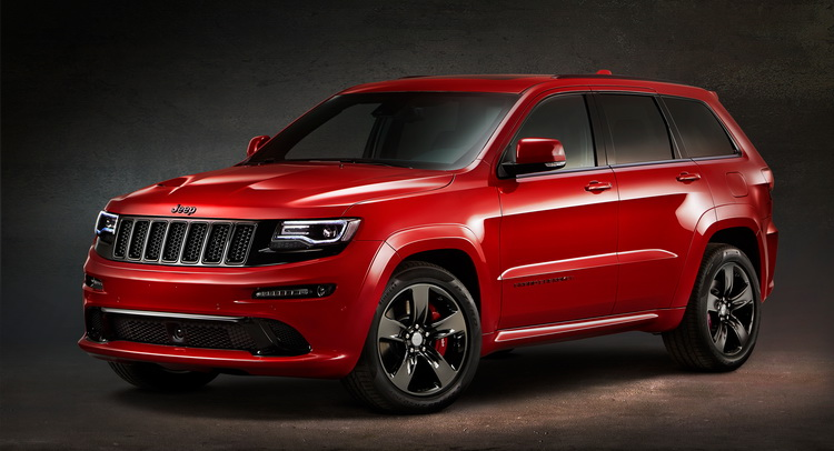 JEEP запускает Grand Cherokee SRT Red Vapor Edition, по цене от £64,999